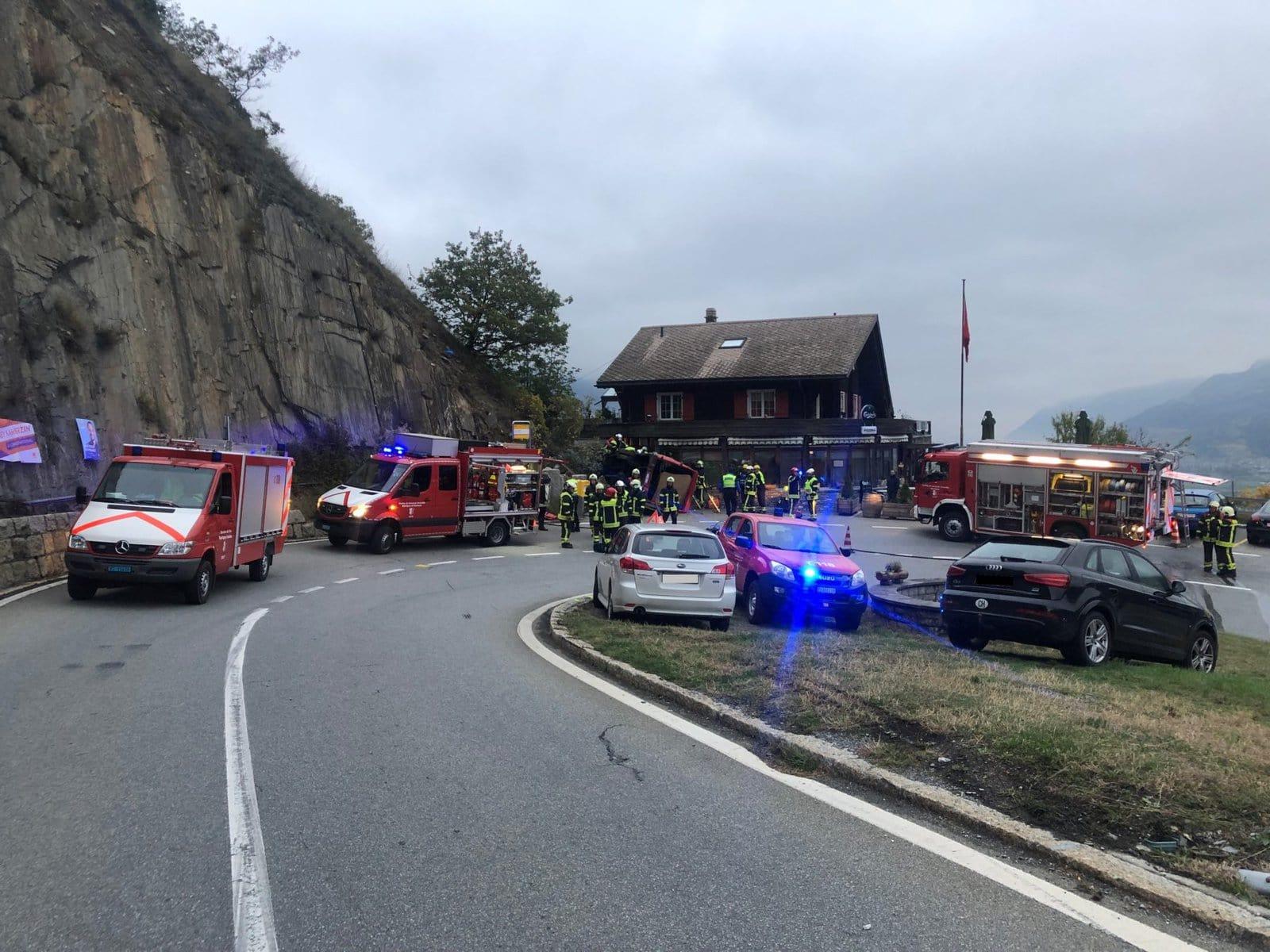 Martigny Combe Accident De Circulation 1 Mort 1 Blesse